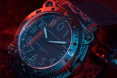 Hamilton Khaki Navy BeLOWZERO Titanium TENET Blue H78505331