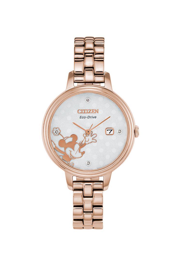 Citizen Minnie Mouse Diamond EW2448-51W Ladies Watch