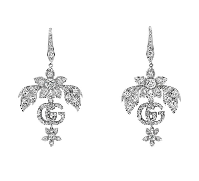 Gucci Fine Jewellery GG Running YBD581840001 Earrings