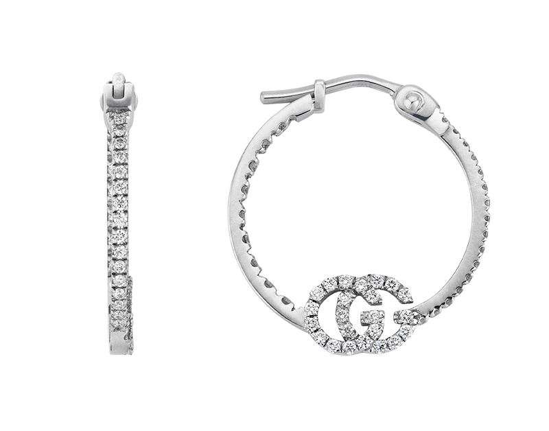 Gucci Fine Jewellery GG Running YBD581982001 Earrings
