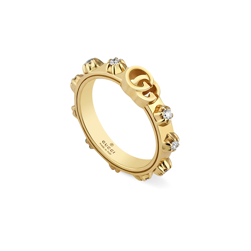 Gucci Fine Jewellery Icon Blooms YBC554301001 Fashion Ring