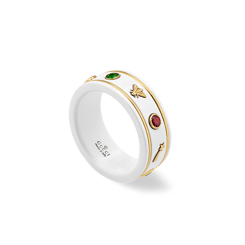 Gucci Fine Jewellery Ouroboros YBC527095001 Fashion Ring