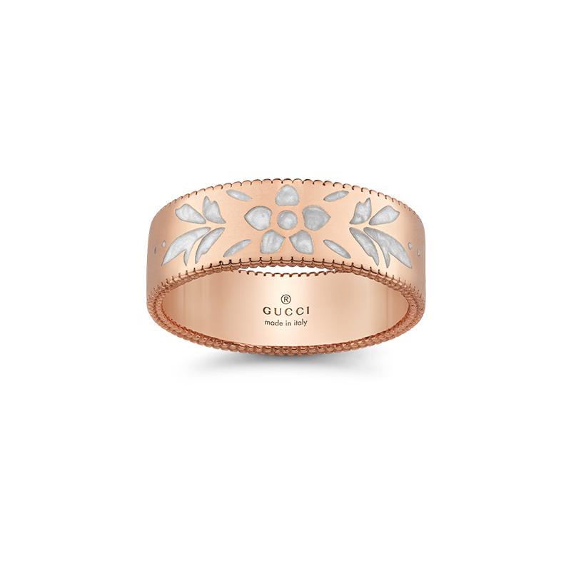 Gucci Fine Jewellery Icon Blooms YBC434525002 Fashion Ring