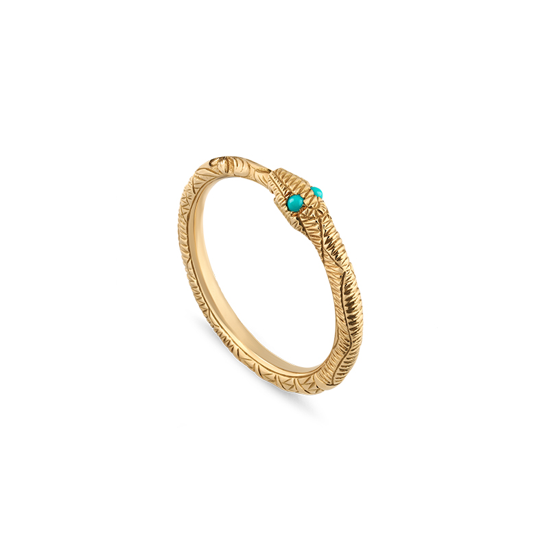 Gucci Fine Jewellery Ouroboros YBC526575001 Fashion Ring