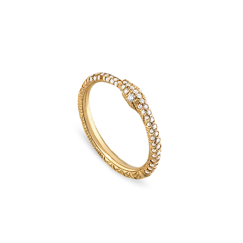 Gucci Fine Jewellery Ouroboros YBC526576001 Fashion Ring