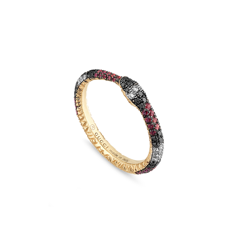 Gucci Fine Jewellery Ouroboros YBC527034001 Fashion Ring