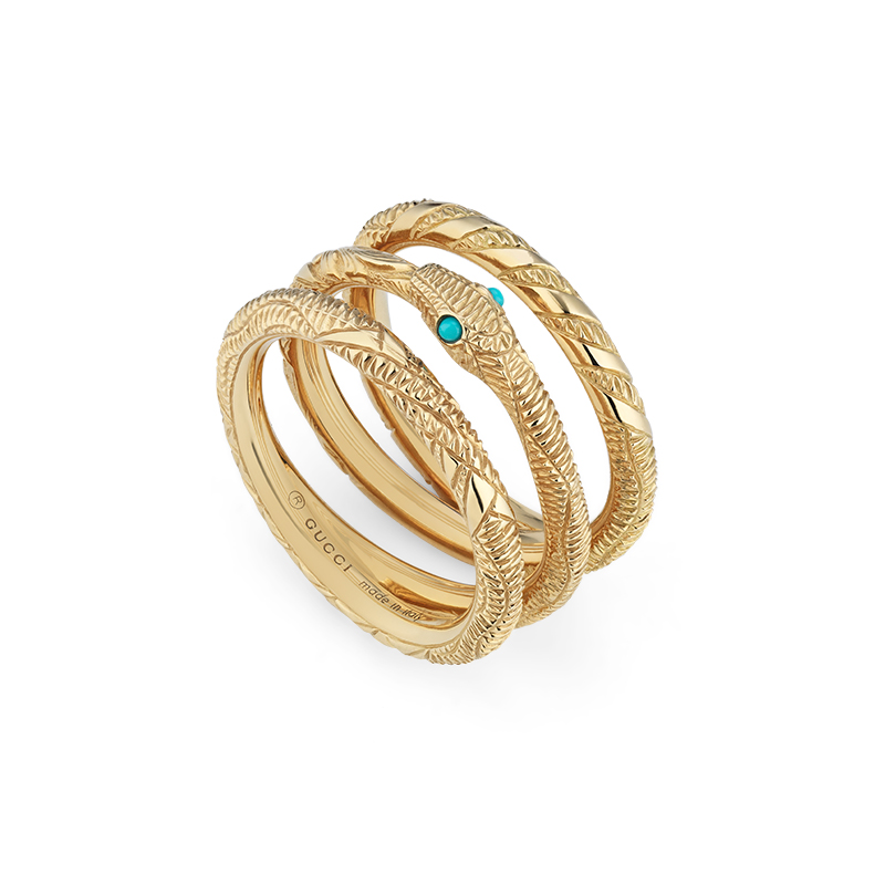 Gucci Fine Jewellery Ouroboros YBC553894001 Fashion Ring