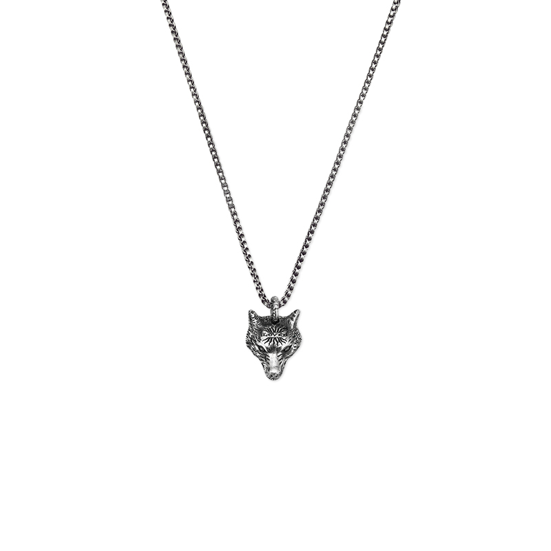 Gucci Silver Anger Forest YBB476930001 Necklace