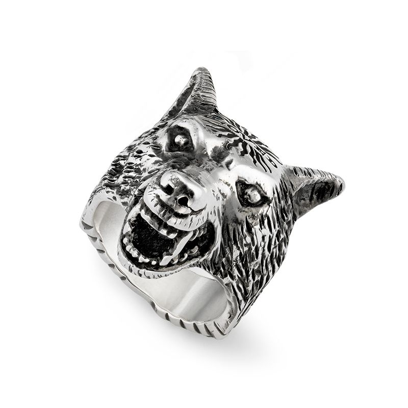 Gucci Silver Anger Forest YBC476900001 Fashion Ring