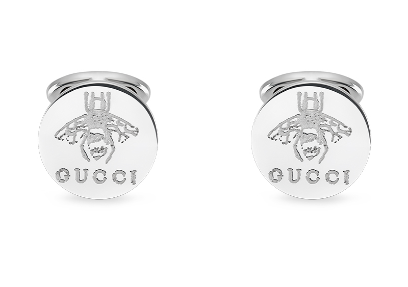 Gucci Silver Men YBE433437001 Cufflinks