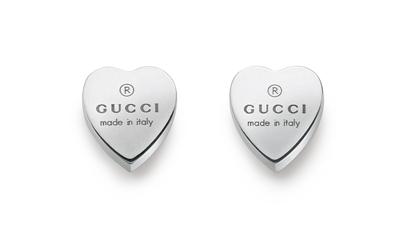 Gucci Silver Trademark YBD223990001 Earrings