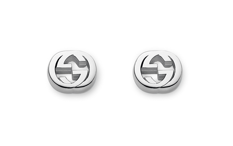Gucci Silver Trademark YBD356289001 Earrings