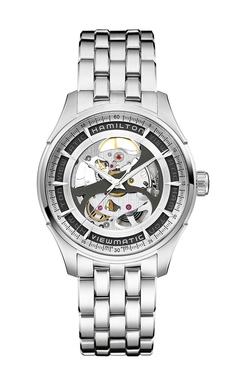 Hamilton Jazzmaster Skeleton H42555151 Watch
