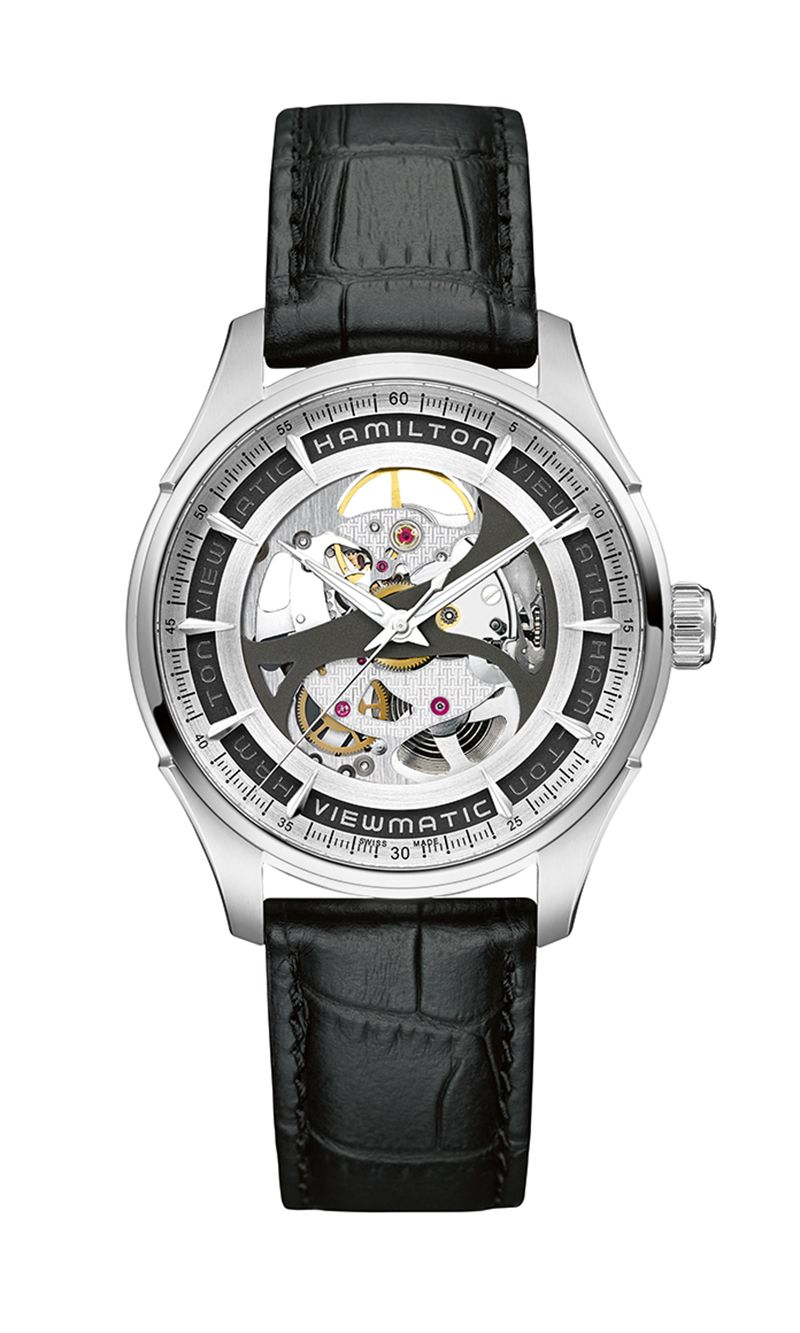 Hamilton Jazzmaster Skeleton H42555751 Watch