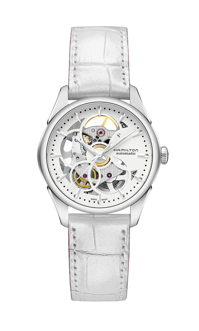 Hamilton Jazzmaster Skeleton H32405811 Watch