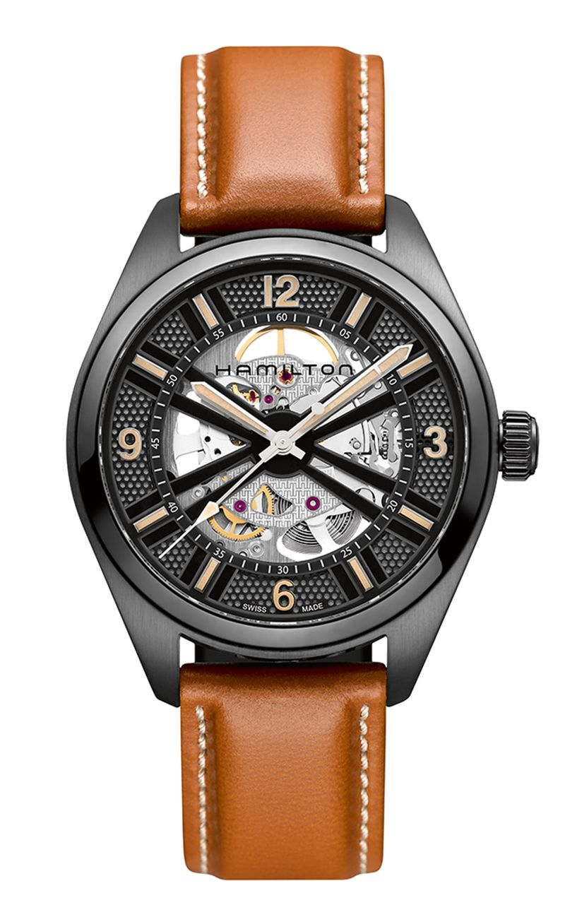 Hamilton Khaki Skeleton H72585535 Watch