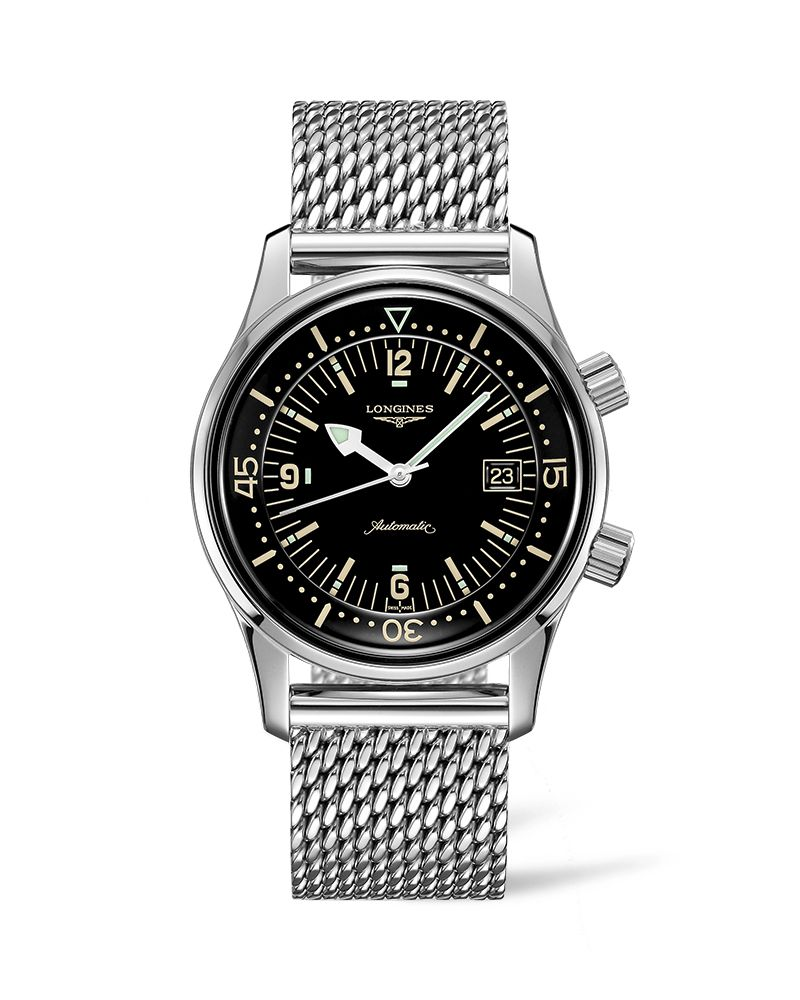 The Longines Legend Diver Watch L37744506 Gents Watch