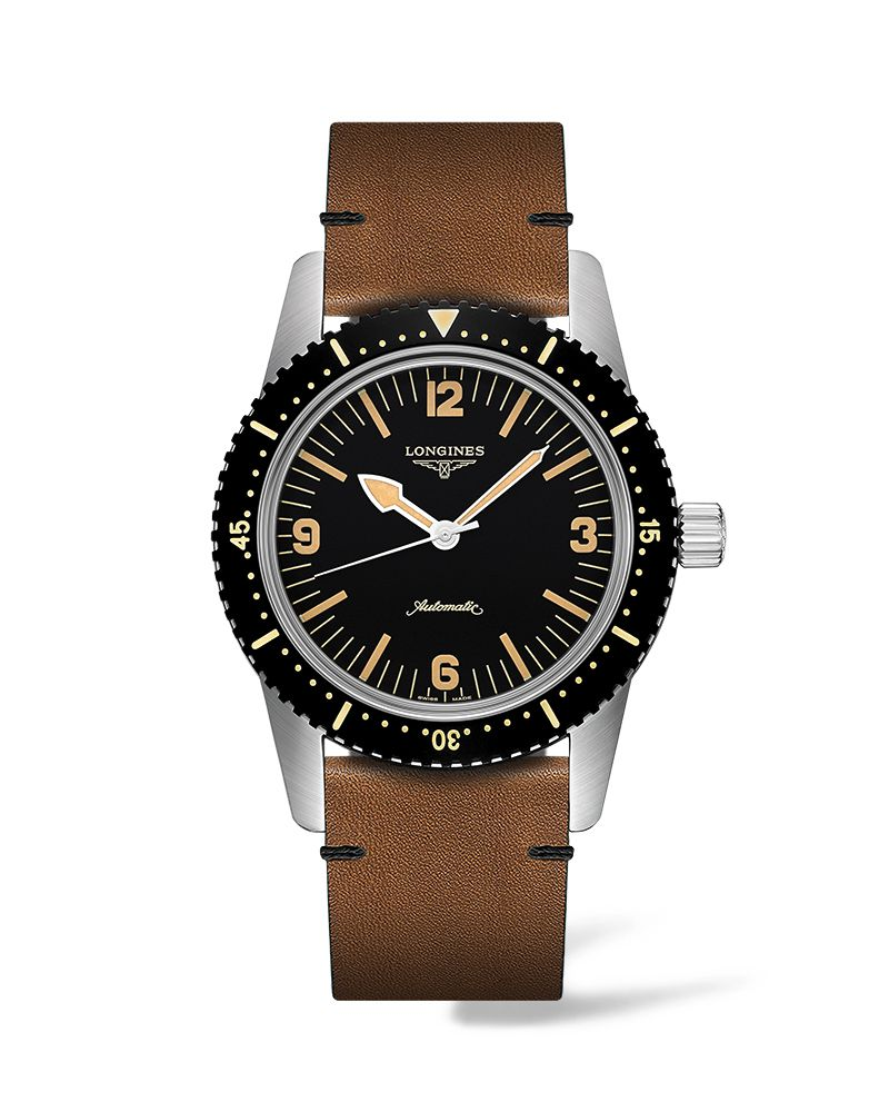 The Longines Skin Diver Watch L28224562 Gents Watch