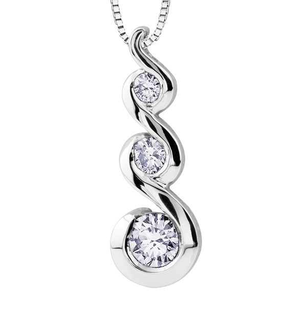 Maple Leaf Diamonds Tides of Love PP2903W/50C Ladies Pendant