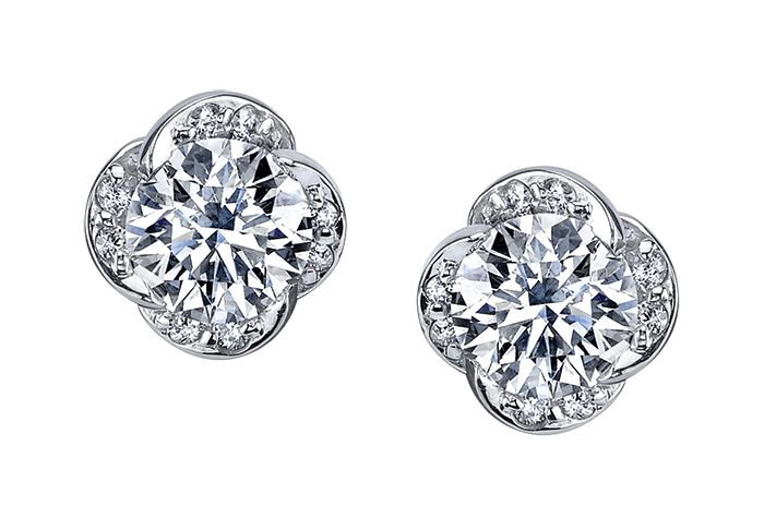 Maple Leaf Diamonds Wind's Embrace EE3054W/70-18 Ladies Earrings