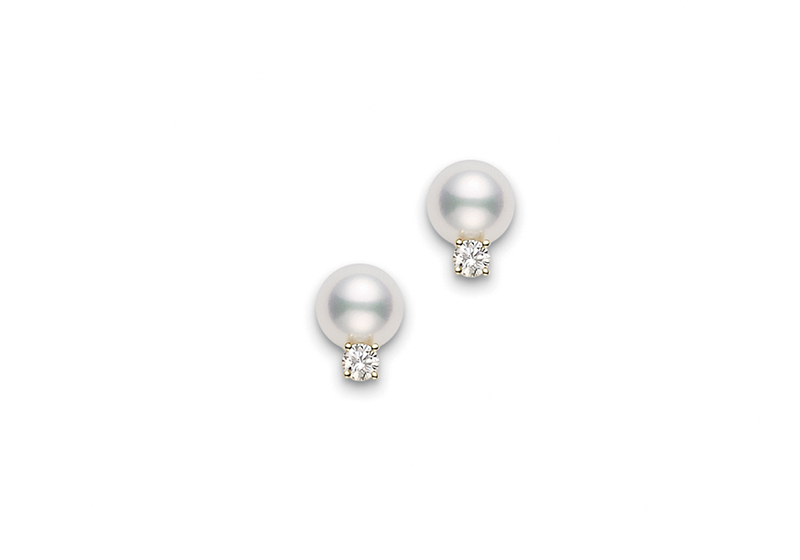 Mikimoto Basic Jewelry PES702DK Earrings