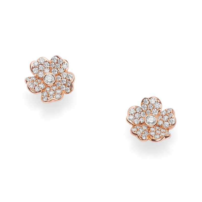 Mikimoto Cherry Blossom MEA10280XDXZ Earrings