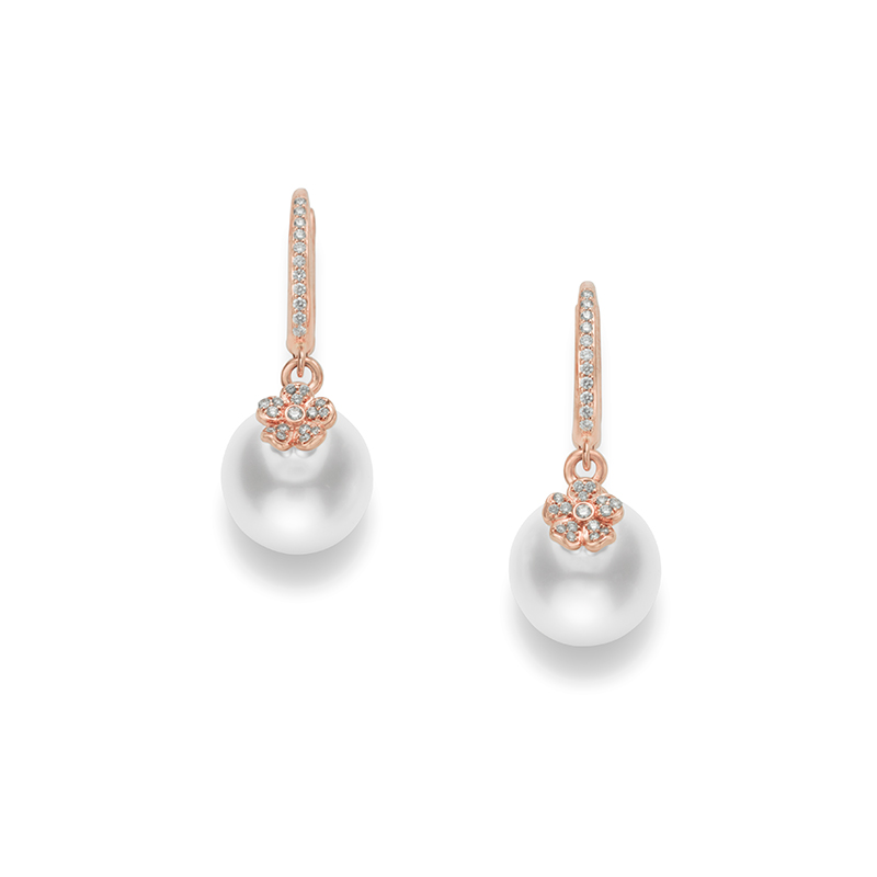Mikimoto Cherry Blossom MEA10262NDXZ Earrings