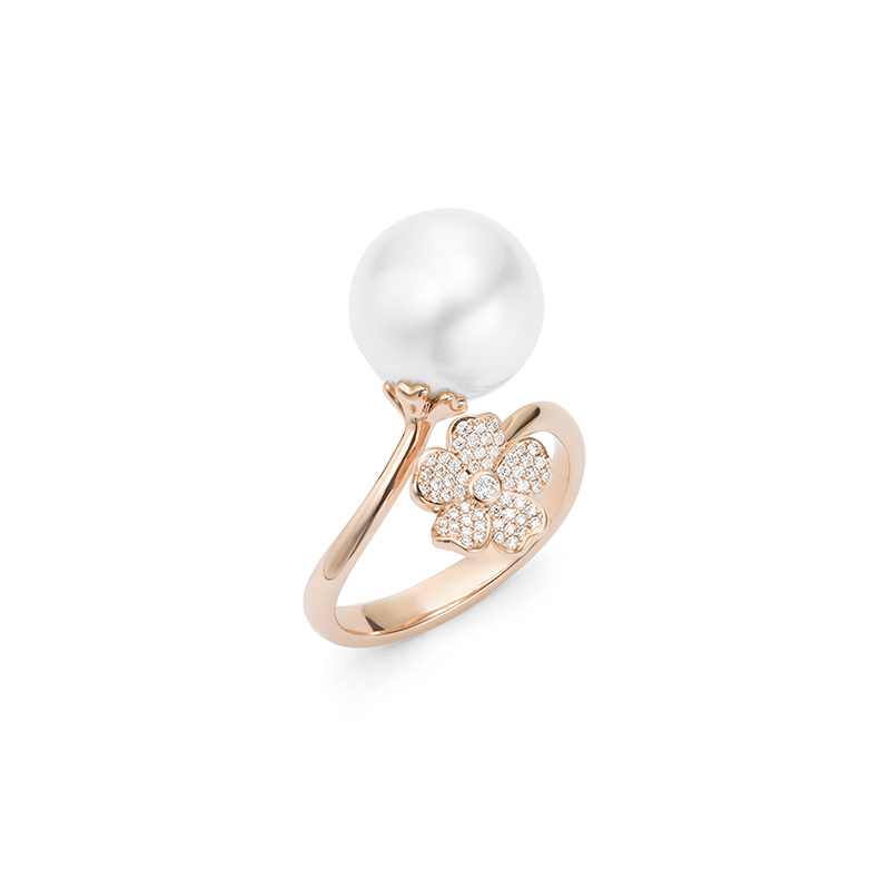 Mikimoto Cherry Blossom MRA10227NDXZ Fashion Ring
