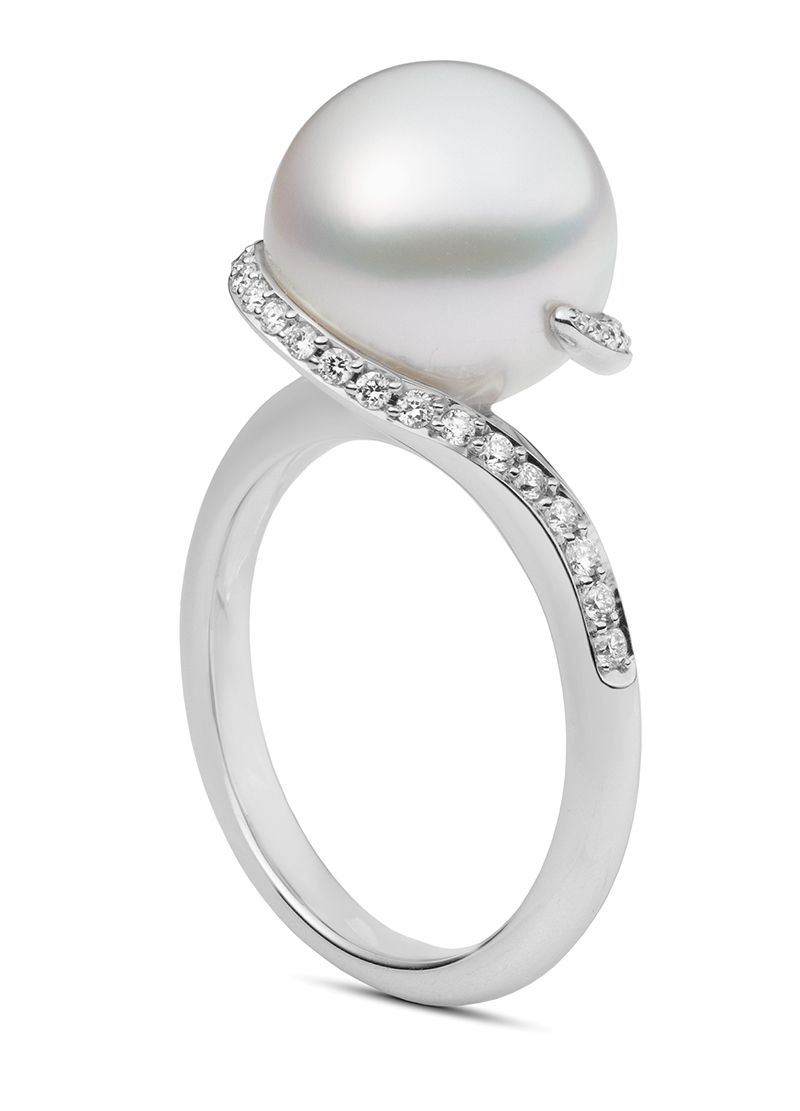 Mikimoto Twist  PRA864NDW Fashion Ring