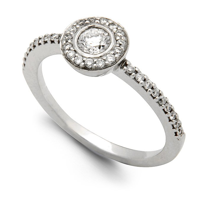 Monaco Collection Engagement Ring AN162 Women's Engagement Ring