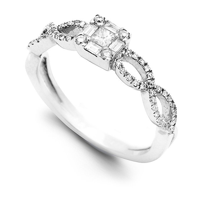 Monaco Collection Engagement Ring AN297 Women's Engagement Ring
