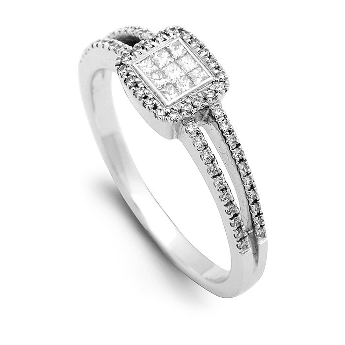Monaco Collection Engagement Ring AN299 Women's Engagement Ring