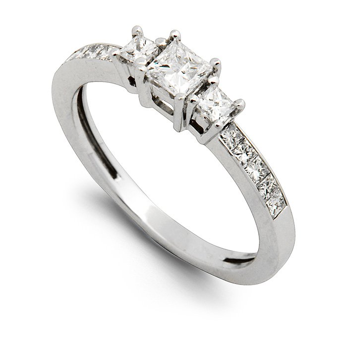 Monaco Collection Engagement Ring AN357 Women's Engagement Ring