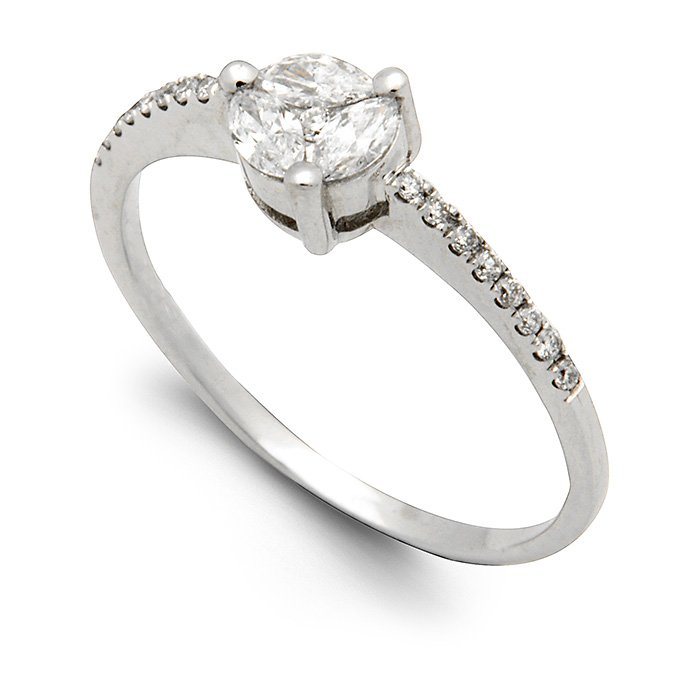 Monaco Collection Engagement Ring AN372 Women's Engagement Ring