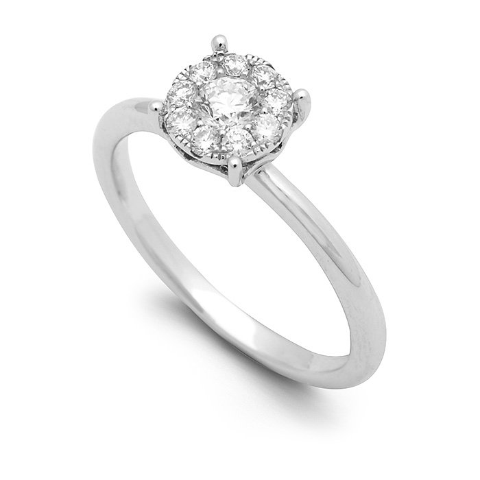 Monaco Collection Engagement Ring AN458 Women's Engagement Ring