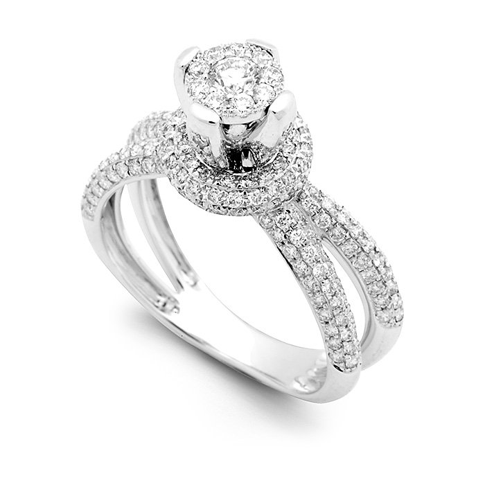 Monaco Collection Engagement Ring AN543-W Women's Engagement Ring