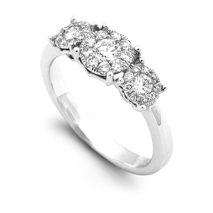 Monaco Collection Engagement Ring AN548-W Women's Engagement Ring