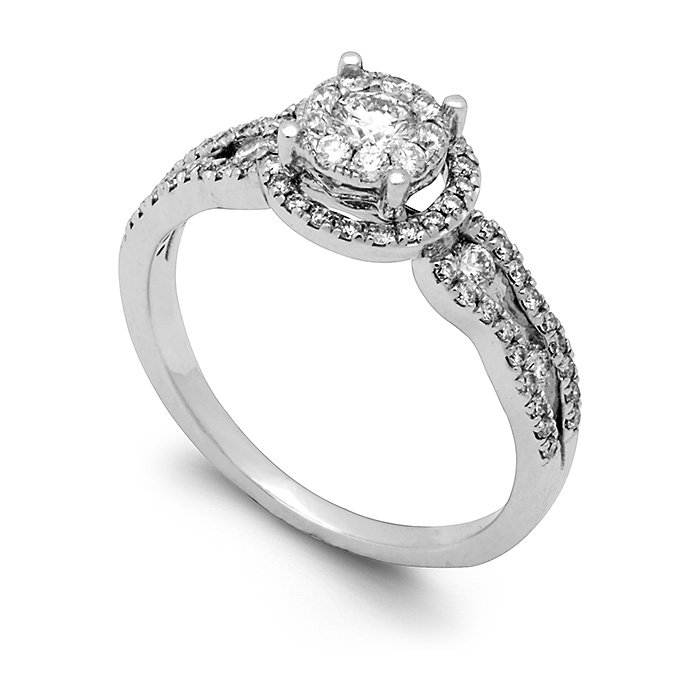 Monaco Collection Engagement Ring AN551-W Women's Engagement Ring