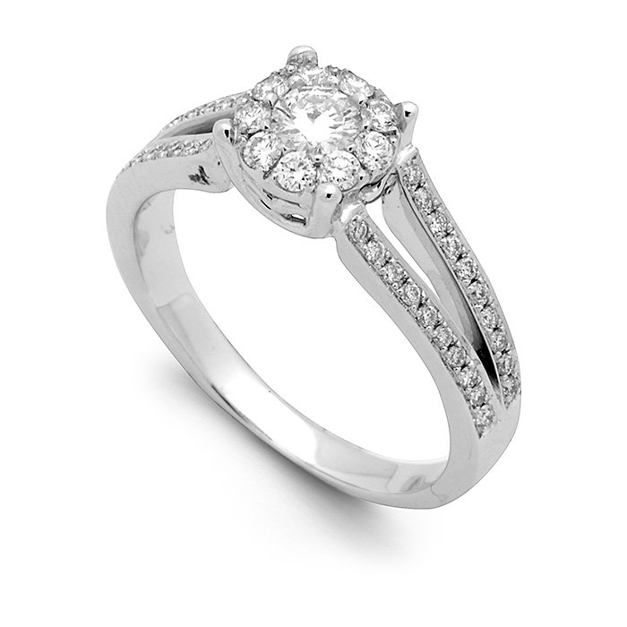 Monaco Collection Engagement Ring AN553W Women's Engagement Ring