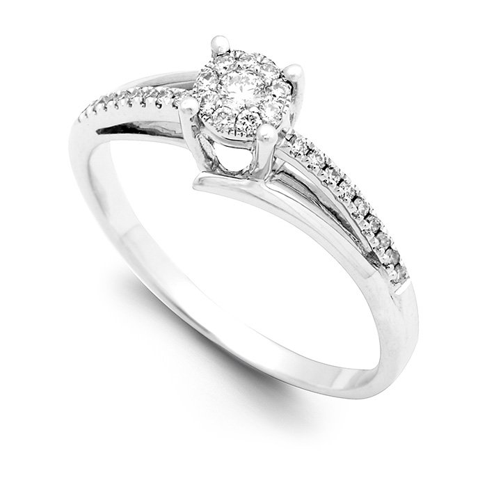 Monaco Collection Engagement Ring AN610W Women's Engagement Ring