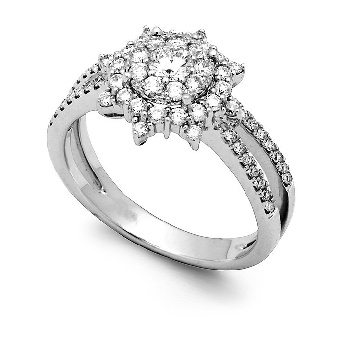 Monaco Collection Engagement Ring AN770-W Women's Engagement Ring