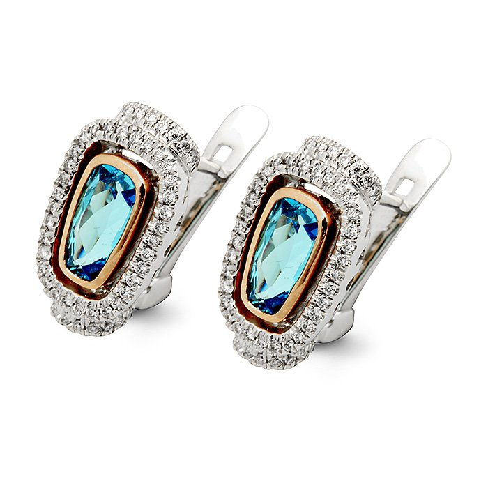 Monaco Collection Earring AN444-BT Women's Earrings