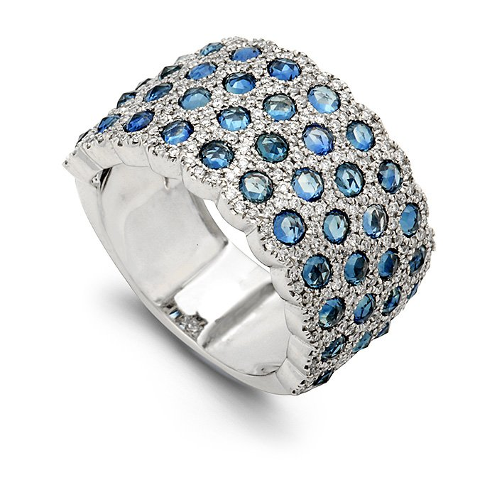 Monaco Collection Ring AN674-SA Women's Fashion Ring
