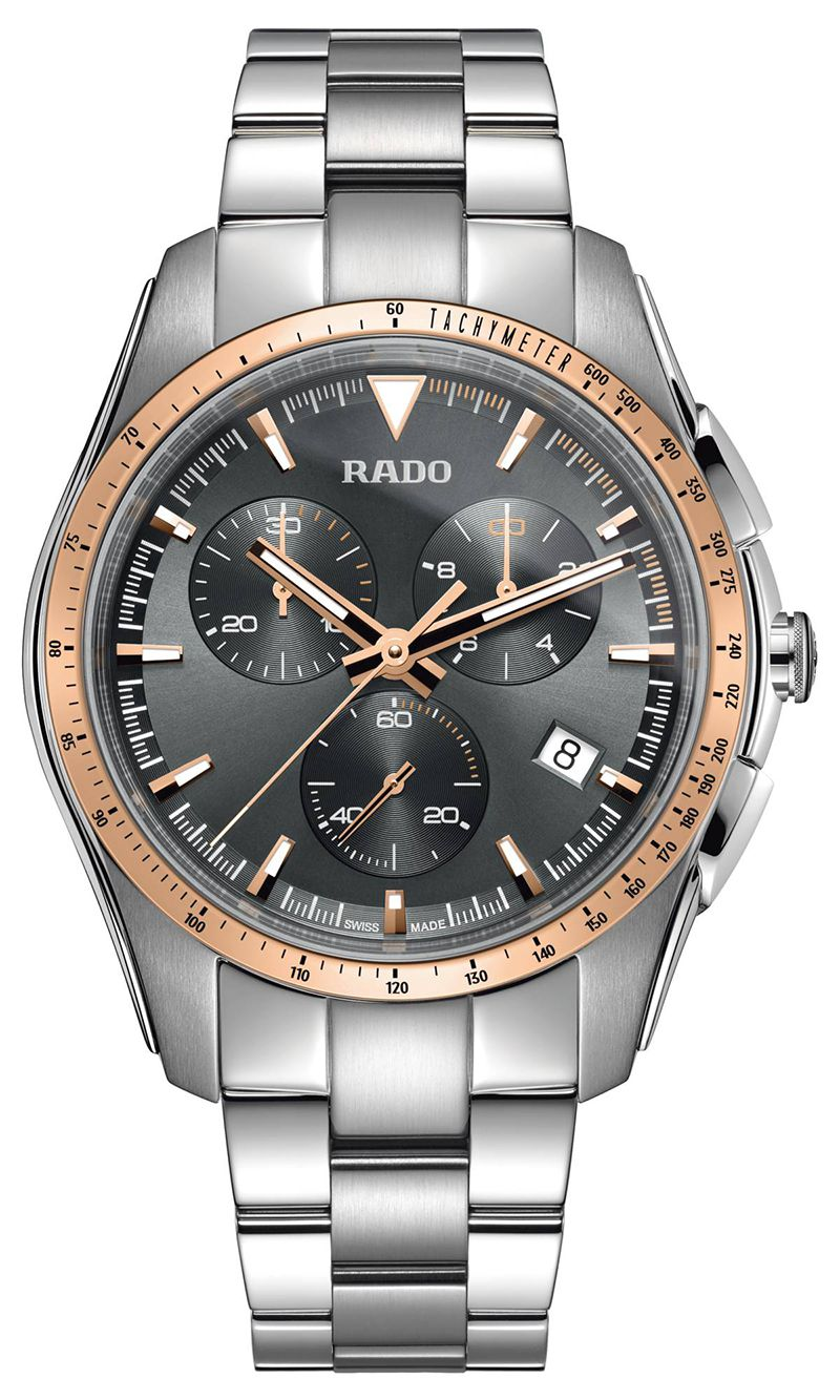 Rado Hyperchrome Chronograph R32259163 Gents Watch