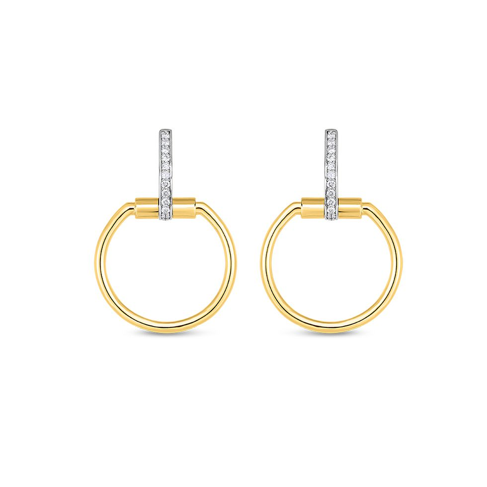 Roberto Coin Classica Parisienne 8882383AJERX Earrings