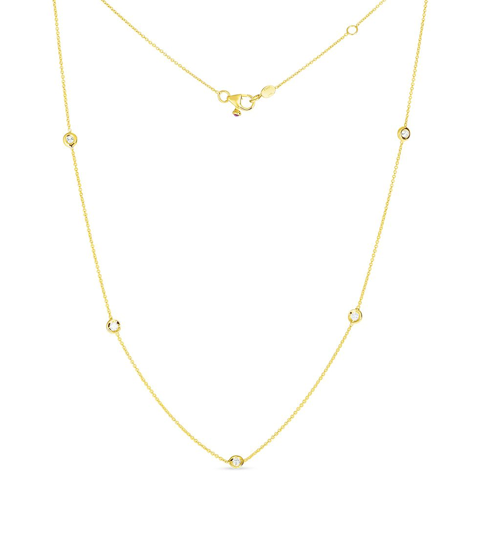 Roberto Coin Diamonds by the Inch 001316AYCHD0 Necklace