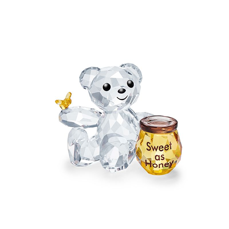 Swarovski Kris Bear - Sweet as Honey 5491970 Figurines - La Maison Monaco