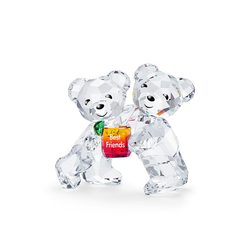 Swarovski Kris Bear - Best Friends 5491971 Figurines - La Maison Monaco