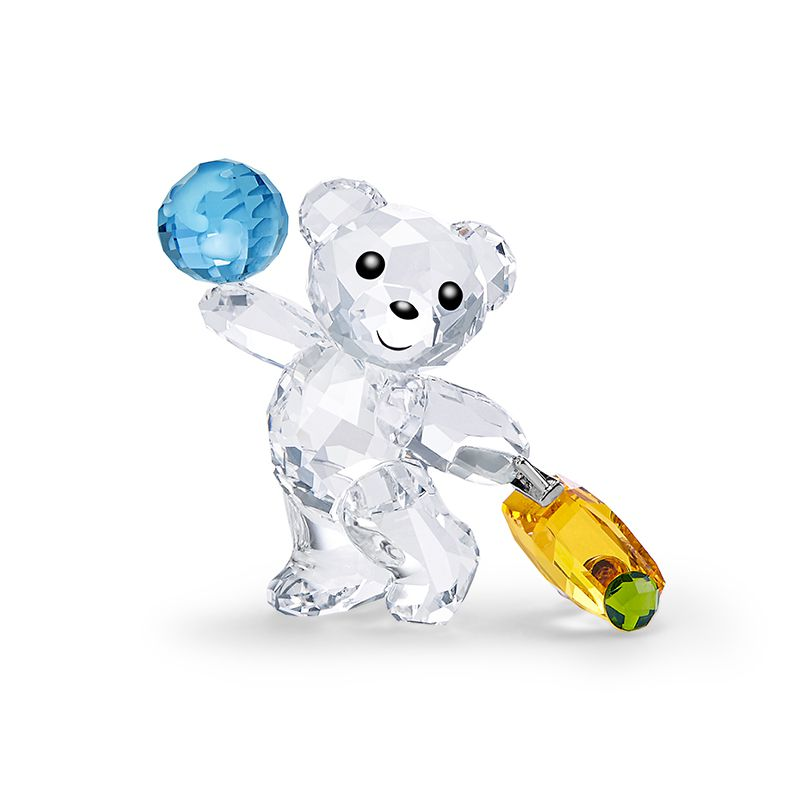 Swarovski Kris Bear - I travel the World 5491972 Figurines - La Maison Monaco