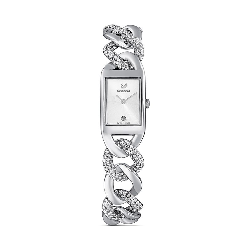 Swarovski Cocktail Watch Metal bracelet Silver tone Stainless steel 5519330 Jewelry Watch - La Maison Monaco